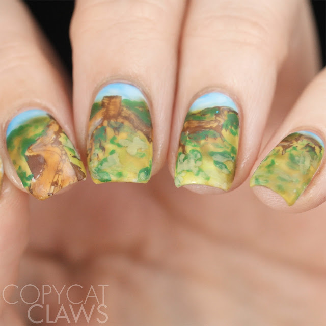 Great Wall Of China Nails