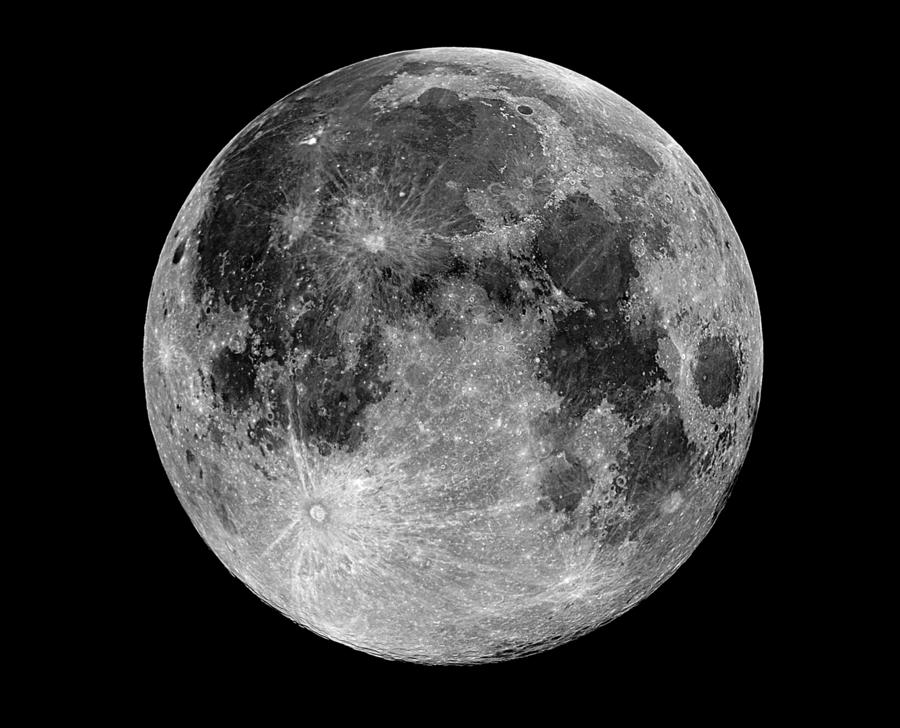 render luna llena