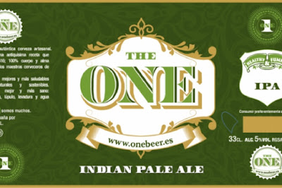 Indian Pale Ale ahumada de The One Beer