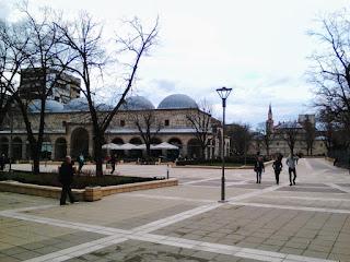 Museum, Mosque, Stone's Throw, Yambol,