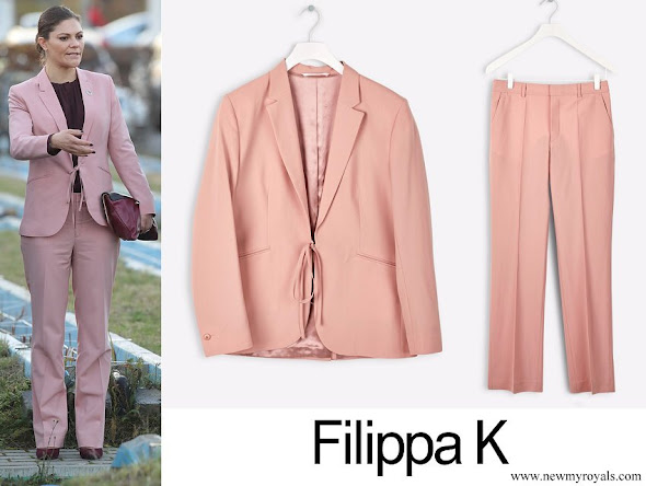 Crown Princess Victoria wore Filippa K Jacket and Pants