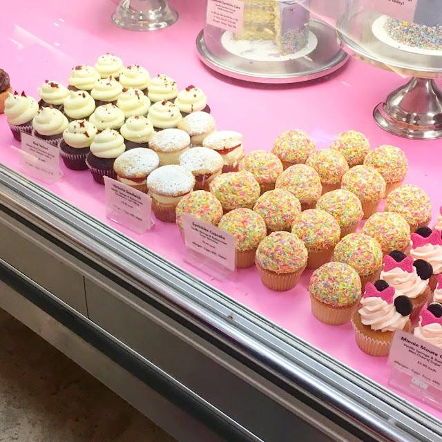 Selfridges cupcakes