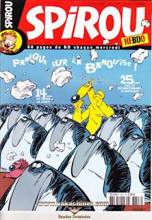 Spirou Hebdo, panique sur la banquise !, numéro 3607, année 2007