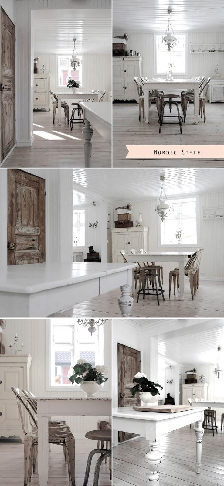 Stile nordico vs stile industriale shabby chic interiors for Case arredate stile shabby