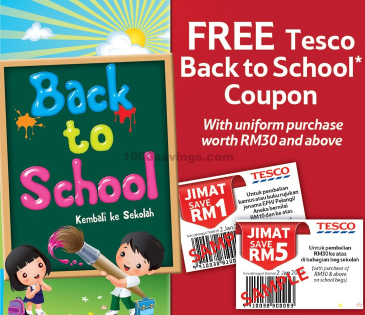 tesco free coupons ireland