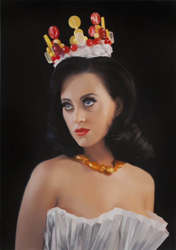 Will Cotton portrait of Katy Perry