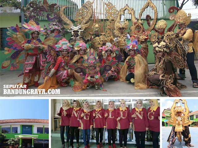 Ngariung Angklung MTs Negeri 1 Kota Bandung Ikuti Parade Chingay Singapore