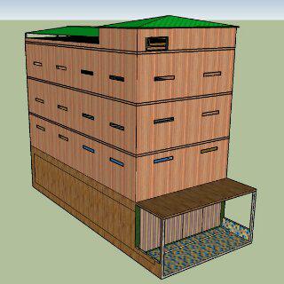 Desain Rumah Walet Terbaru Minimalis Sederhana Berkualitas Cepat Dihuni Walet