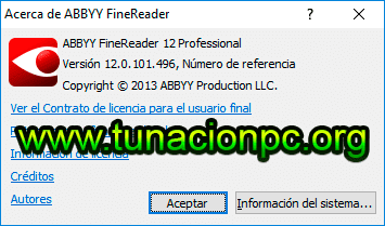 ABBYY FineReader CorporatePro v12.0.101.496 Imagen