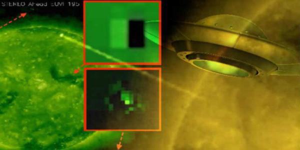 Τεραστίου μεγέθους UFO γύρω από τον Ήλιο  | Βίντεο