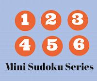 Mini Sudoku Series Puzzles