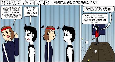 Você devia ter corrido quando a Bessie chegou, Vlad.