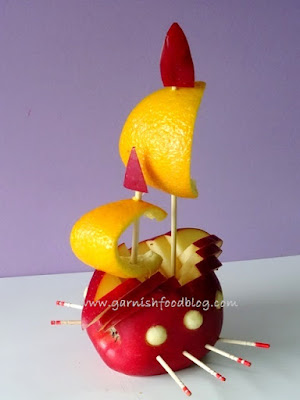 easy fruit carving lesson