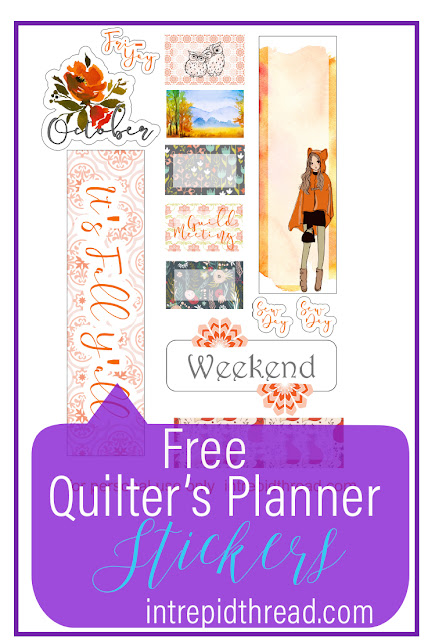 Free October Planner Stickers