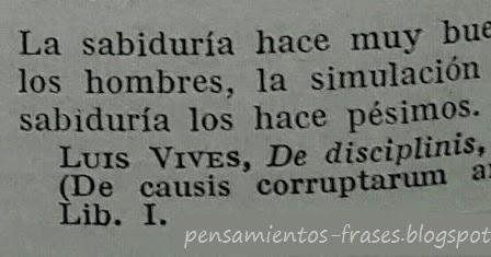 Frases Célebres La Sabiduría Luis Vives