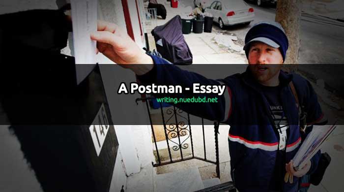 postman essay a postman essay