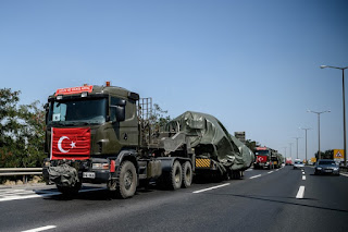 Turkish military convoy illegally enters northern Latakia