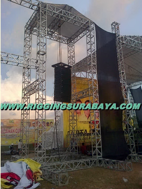 Line Array Sound System Kubus Surabaya