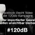 Facebook löscht Video der 120db-Kampagne