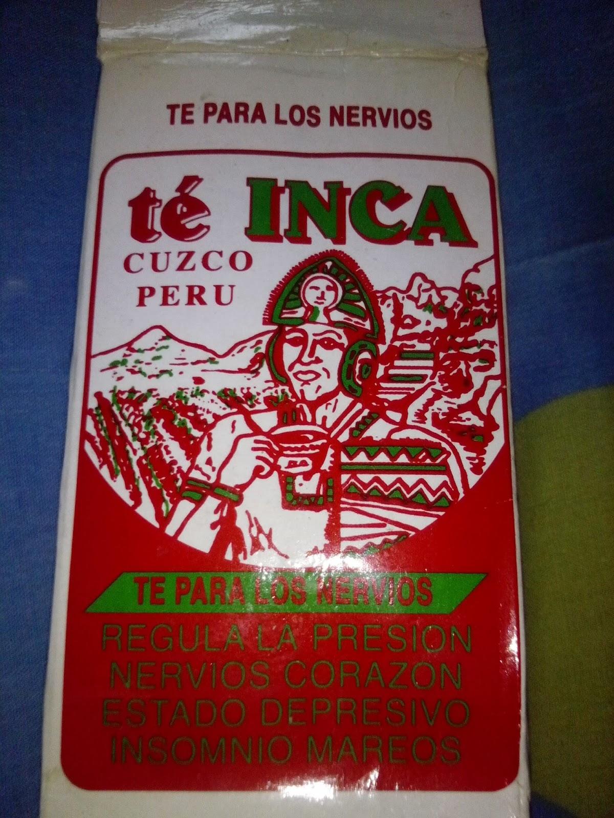 Té Inca (versión rojo)