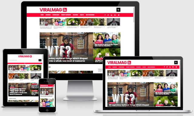 Viral Mag Multipurpose Responsive Blogger Templates