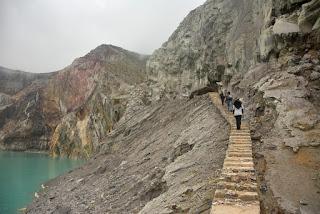 Rute Pendakian Gunung Ijen
