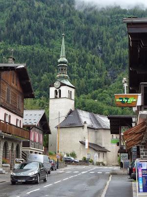 教会 レ・ズッシュ Les Houches シャモニー渓谷