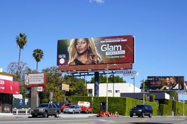 Glam Masters season 1 billboard