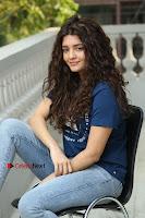 Actress Rithika Sing Latest Pos in Denim Jeans at Guru Movie Interview  0192.JPG