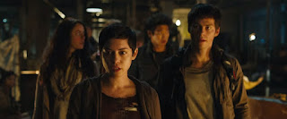 the maze runner the scorch trials-kaya scodelario-rosa salazar-ki hong lee-dylan obrien
