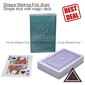 Jual alat sulap Stripper marking ikan, stripper marking fish