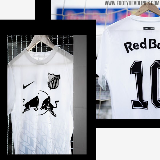 Amazing Nike Red Bull Bragantino 2019 Carijo Kit Released Sold In Special Cylinder Box Footy Headlines