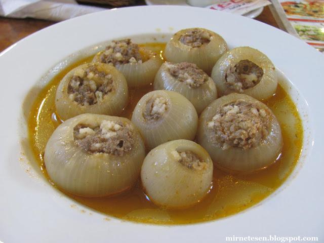 Боснийское блюдо - соган долма