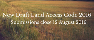 New Draft Land Access Code 2016