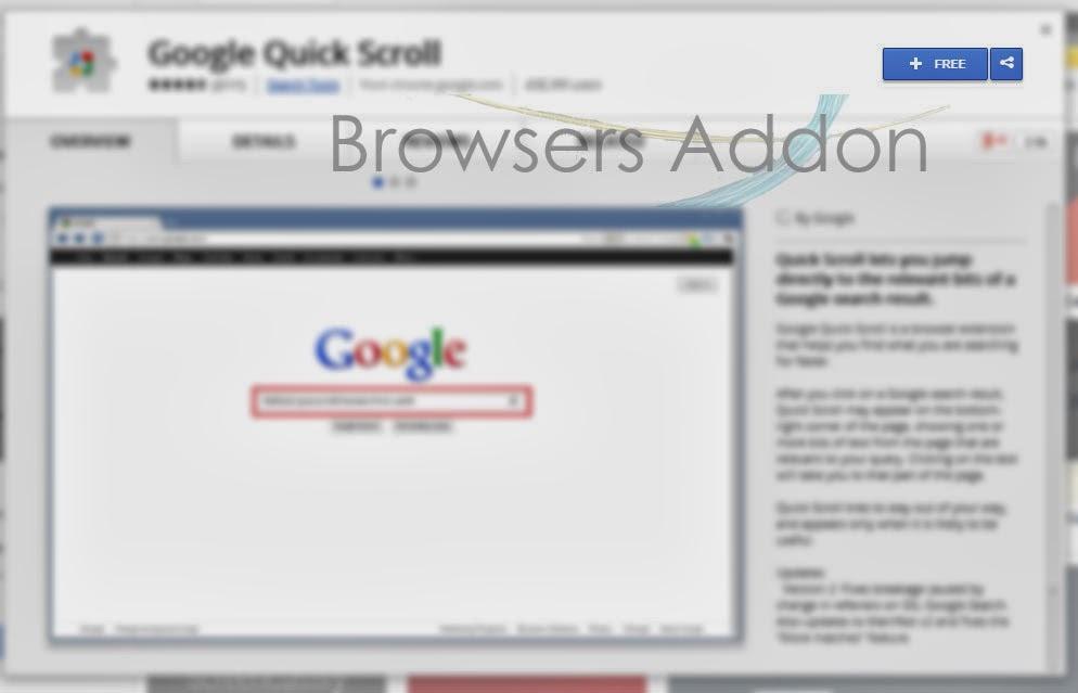 Google Quick Scroll_add_chrome