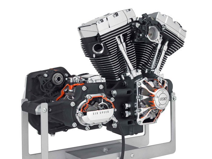 2012 harley davidson twin cam 103 v twin engine review. Black Bedroom Furniture Sets. Home Design Ideas