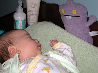 Image: Checkin' out Mr. Purple 64 days old, by Jessica Merz, on Flickr