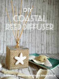 DIY Diffusore per ambienti in stile Coastal 1 - MLI