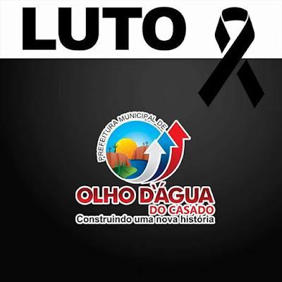 Prefeitura de Olho D'Água do Casado  emite nota de pesar pela morte de Jânio Allan