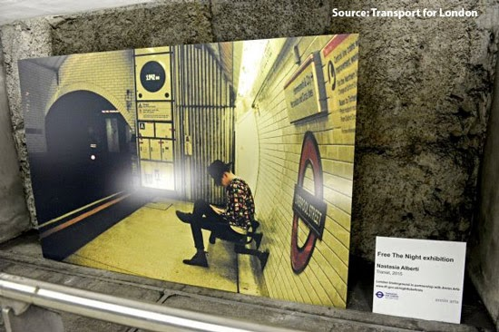 TfL London Underground Exhibition 24 Hour Tube Photography
