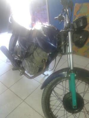16ºBPM - Policiais Militares Recuperam Moto Roubada, em Anapurus