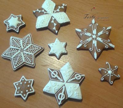 piernikowe gwiazdki