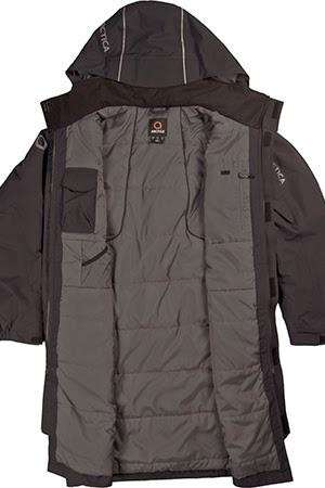 open arctica coaches coat black image
