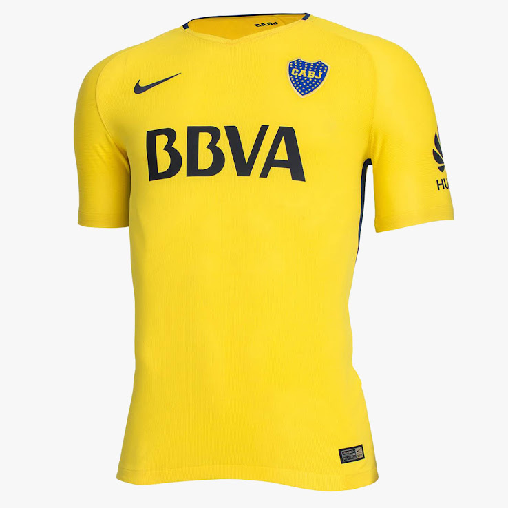 new product 306cf a9c8a Boca Juniors 17-18 Home and Away Kits Released - Footy Headlines
