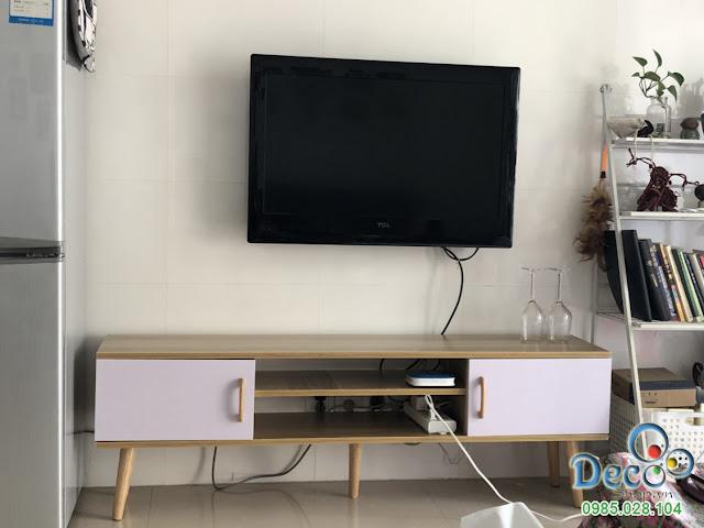Kệ Tivi Đẹp Để Sàn Deco DB08