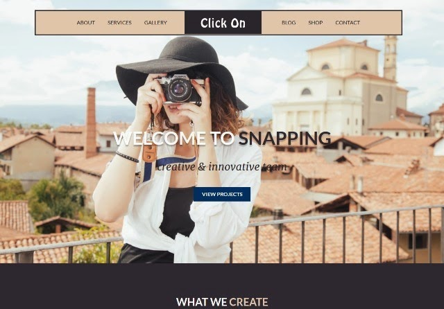 Click On - Fashion HTML5 CSS3 Website Template