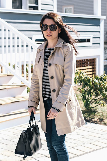 Classic Trench Coat Style