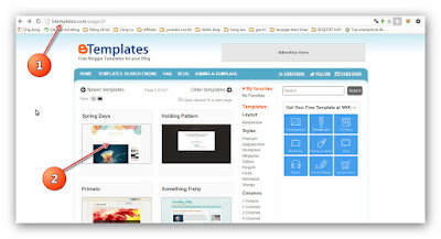 Hướng dẫn thay đổi giao diện cho Blogspot