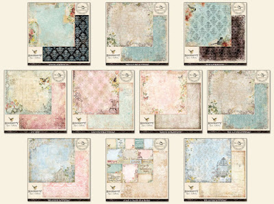 Scraps of Elegance February Garden Gala Patterned Paper Add On