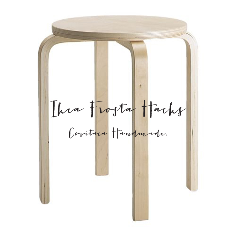 Ikea taburete Frosta Hacks ideas